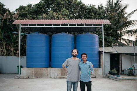 Los sistemas de recogida de agua de lluvia pueden resolver la escasez de agua potable provocada por el cambio climático