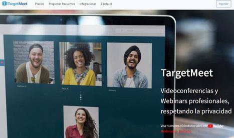 Llega TargetMeet, videoconferencias online, sin necesidad de descargas y con la máxima privacidad