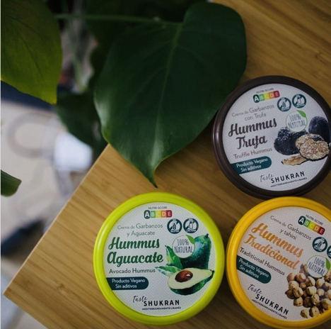 Taste Shukran llega a un acuerdo con Alcampo para distribuir sus hummus en sus centros