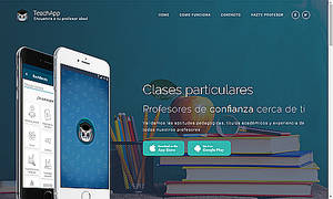 Una nueva app permite a estudiantes encontrar profesores de refuerzo e idiomas en su zona o barrio