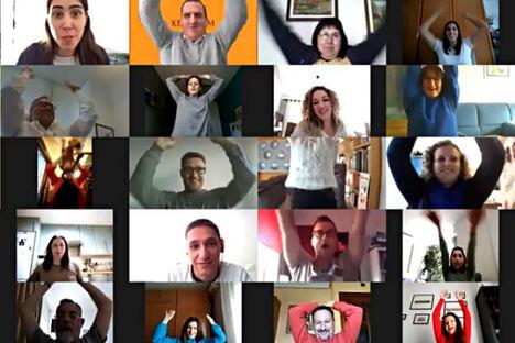 Calandria, el team building virtual más deseado