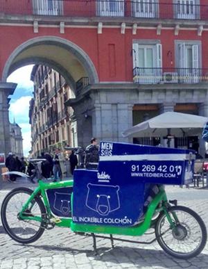 Tediber renueva su colaboración con la empresa madrileña de transporte Mensos