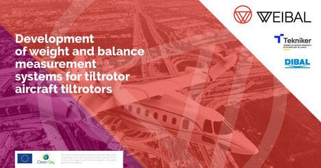 Tekniker y Dibal colaboran en un sistema de medición de peso y equilibrio de aeronaves tipo