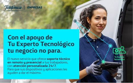 Telefónica Empresas lanza un nuevo servicio integral de apoyo para pymes orientado al empleado, lo que facilitará el teletrabajo