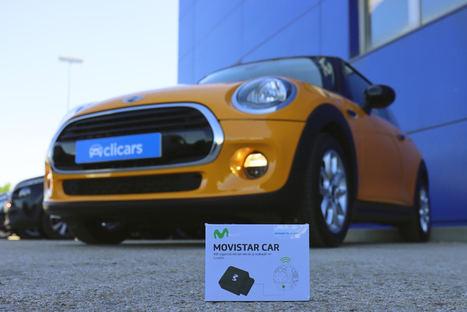 Telefónica y Clicars se alían para impulsar la digitalización del canal de compra del coche conectado con Movistar Car