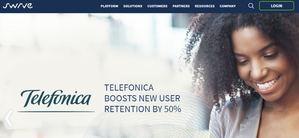 El proveedor líder de telecomunicaciones, Telefónica, aumenta la retención de nuevos usuarios en un 50 % gracias a Swrve