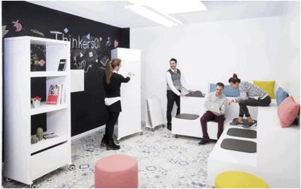 Las nuevas tendencias que ya están revolucionando los espacios de trabajo; ¡adiós a los puestos de trabajo!