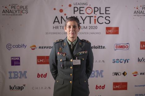 Teniente Coronel de la Guardia Civil, María Dolores Gimeno Durán, jefa del área de Mujeres e Igualdad del Gabinete Técnico de la Directora General.