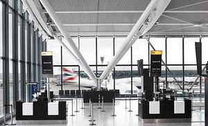 Terminal 5 de Londres Heathrow.