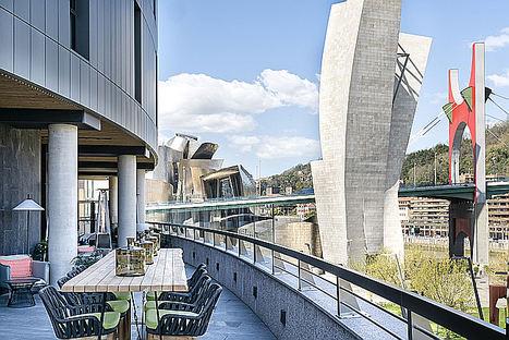 Terraza Vincci Consulado de Bilbao.