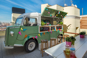 Bienvenido a las Street Food Sessions en The MintRoof: gastronomía internacional en modo foodtruck