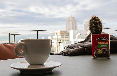 Así es la terraza de invierno del Hotel Indigo Madrid Gran Vía