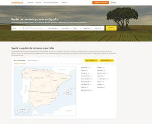Terrenos.es: nace un buscador web especializado en solares, parcelas, fincas y terrenos en venta en España