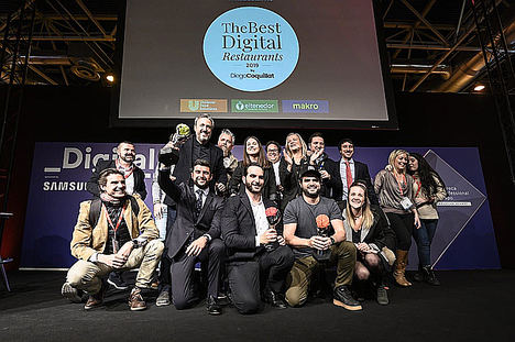 Mario Sandoval, Goiko Grill y el restaurante El Pimpi, ganadores de The Best Digital Restaurants 2019