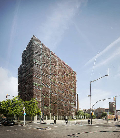 The Ó Building - active working concept in Barcelona