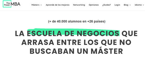 LinkedIn nombra a ThePowerMBA como la mejor startup española de 2020
