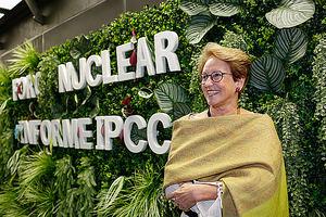 Thelma Krug, vicepresidenta del Panel Intergubernamental sobre Cambio Climático de Naciones Unidas.