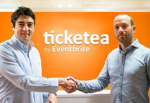 De izqda a dcha; Javier Andrés, CEO y cofundador de Ticketea y Frans Jonker, General Manager Continental Europe de Eventbrite.