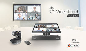 Tixeo lanza VideoTouch Compact, seguridad y simplicidad para salas de videoconferencia de última generación