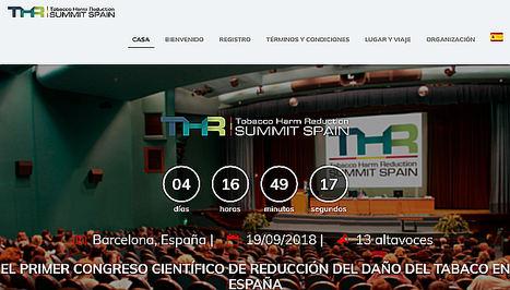 Barcelona acoge el primer congreso científico internacional sobre cigarrillos electrónicos y reducción de daños