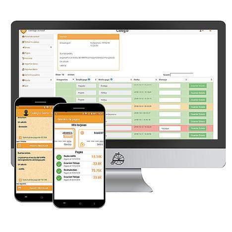 TokApp, la primera app que soluciona los pagos del colegio