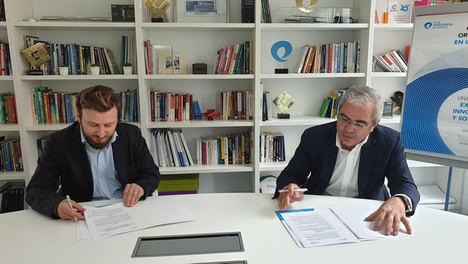 El Club Excelencia en Gestión y Opinno firman un convenio de colaboración para fomentar un ecosistema empresarial innovador