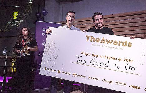 Too Good To Go es elegida como la mejor app del 2019 en España en los premios TheAwards