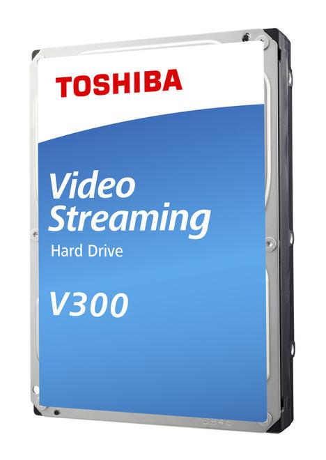 Toshiba lanza los nuevos discos duros internos S300 y V300 diseñados para videovigilancia y streaming de vídeo