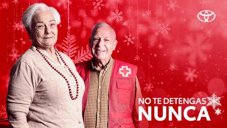 Toyota España se une a Cruz Roja para impulsar la movilidad de las personas mayores en Navidad