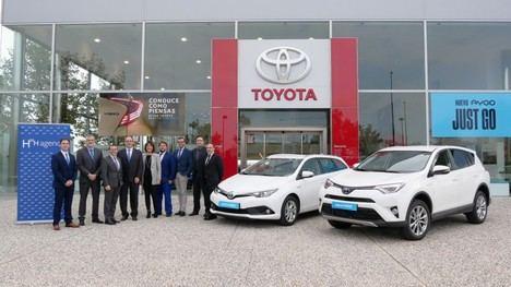 19 Toyota híbridos eléctricos para la flota de Agenor Mantenimientos