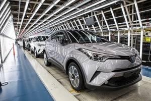 Comienza la producción del nuevo Toyota C-HR