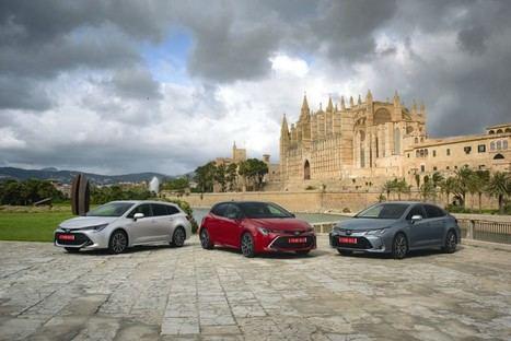 Llega a España la nueva familia Corolla