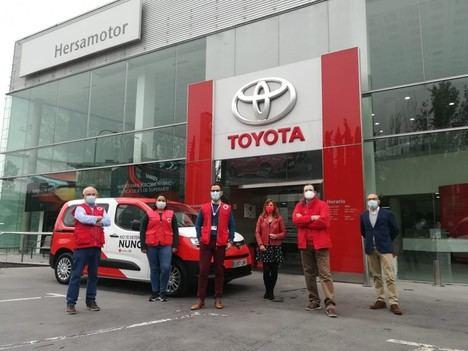 Toyota España y Cruz Roja refuerzan su colaboración