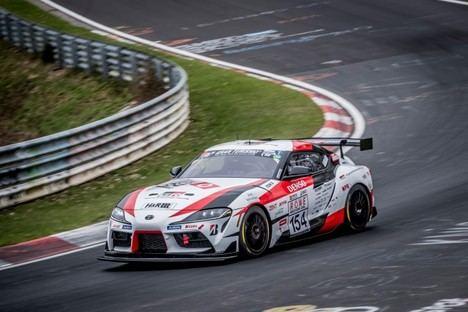 El nuevo Toyota GR Supra, protagonista de las 24 Horas de Nürburgring