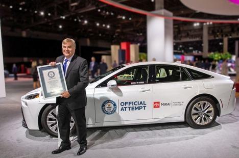 Toyota Mirai, nuevo récord Guiness