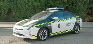 La Guardia Civil de Tráfico apuesta por la tecnología híbrida de Toyota