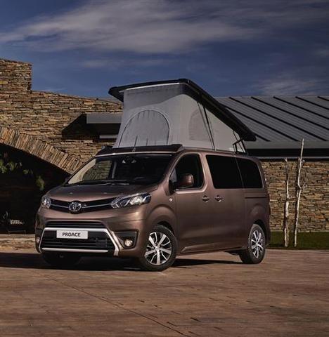 Toyota España lanza el Proace Verso Camper