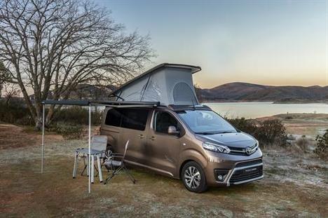 Llega a España el Toyota Proace Verso Camper