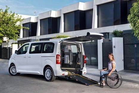 Toyota Proace y Proace City, las mejores soluciones para el transporte de personas con movilidad reducida