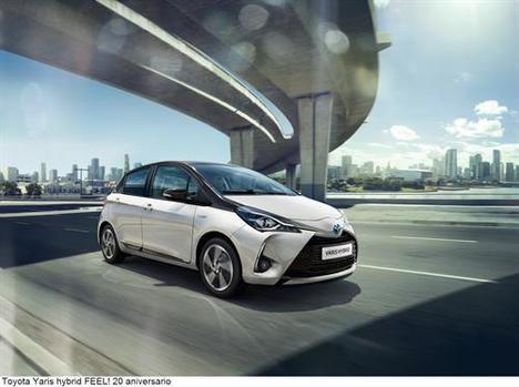 Nueva gama Toyota Yaris 20 Aniversario