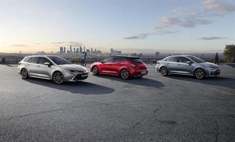Toyota España lanza la nueva familia Corolla