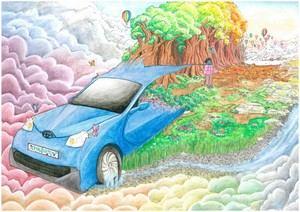 Los 9 mejores dibujos infantiles de 'Toyota Dream Car' 2017-2018