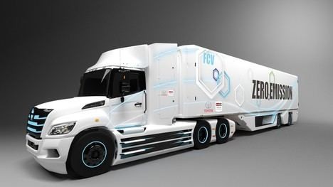 Toyota e Hino desarrollan un camión de gran tonelaje