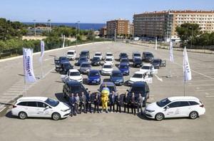 Toyota entrega los 250 vehículos para los Juegos Mediterráneos Tarragona 2018