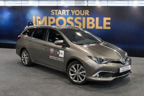 Toyota España, proveedora de movilidad de la Agencia EFE en el Mundial de Rusia
