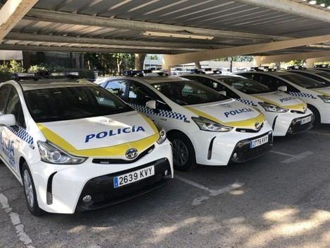 Toyota España entrega 50 unidades Prius+ a la Policía Municipal de Madrid
