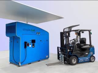 Toyota instala una estación para producir y suministrar hidrógeno