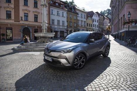 Híbridos eléctricos de Toyota