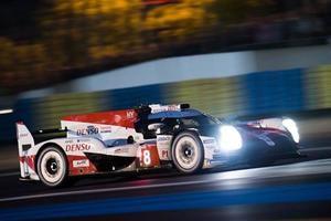 Pole Position para Toyota y Fernando Alonso en las 24 horas de Le Mans