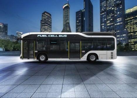 Toyota pone a la venta el autobús de pila de combustible Sora